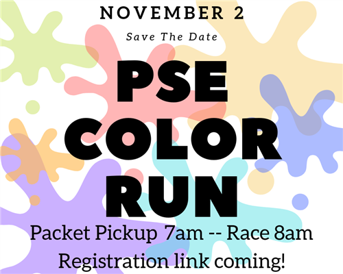 PSE COLOR RUN SAVE THE DATE