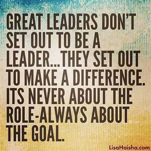 Great leaders quote