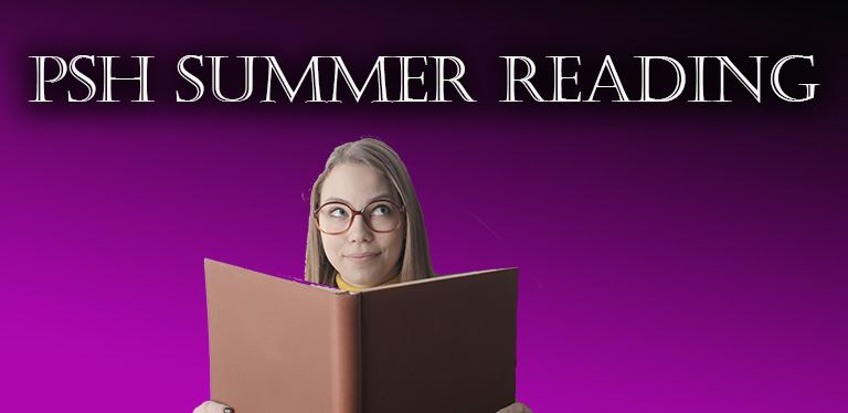 Generic PSH summer reading graphic