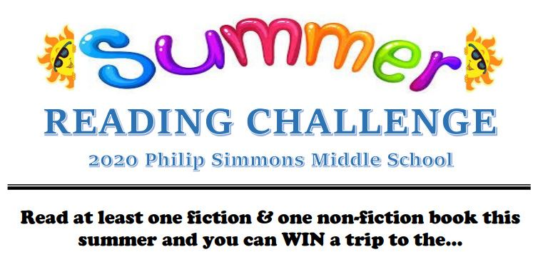 Summer Reading Challenge! Link contains additional info.