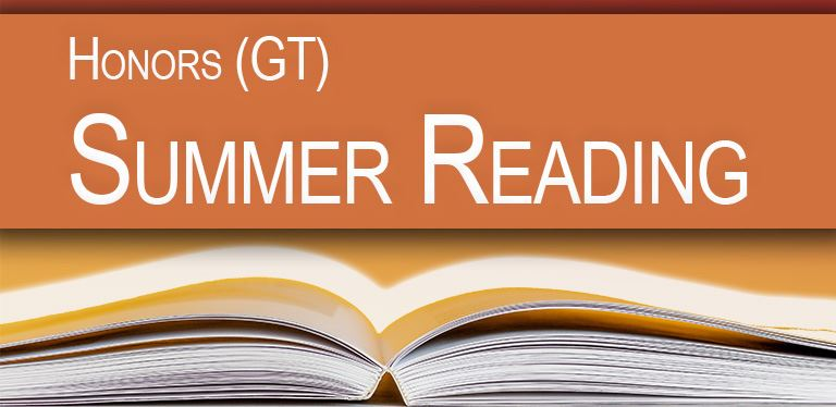 PSM 2020-2021 Honors (GT) Summer Reading