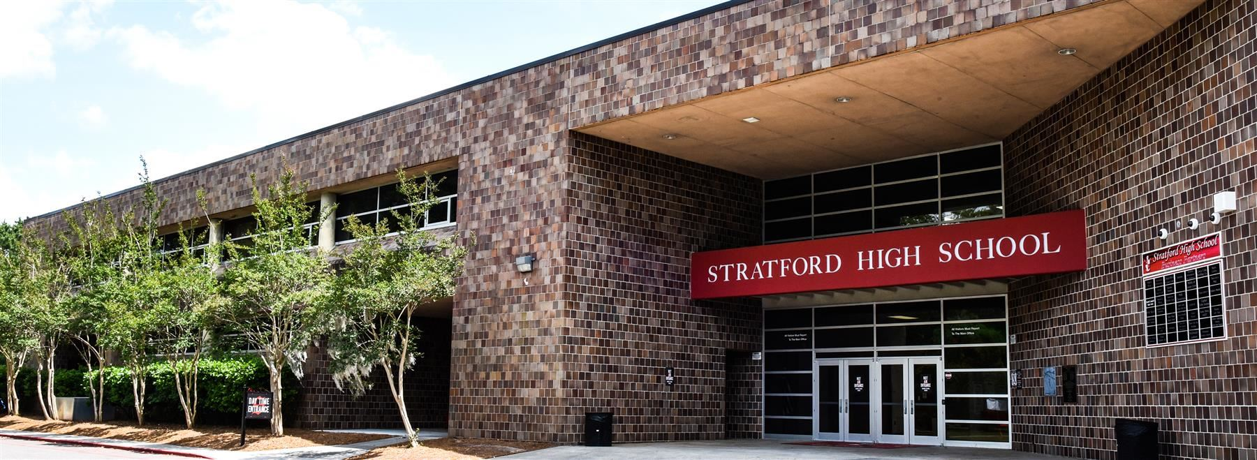 front of stratford high