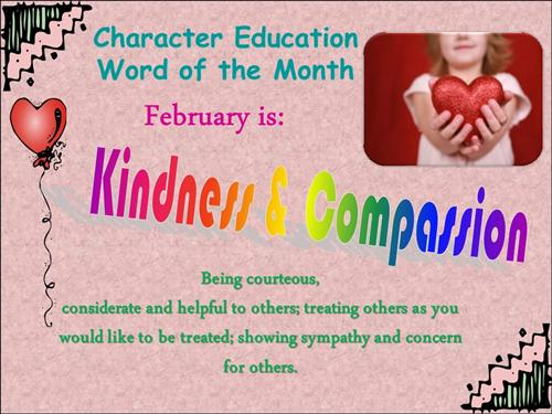 February Word of the Month